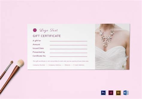 Christmas Gift Certificate Template 16 Word Pdf Documents Download Free Premium Templates Gift Certificate Template Indesign