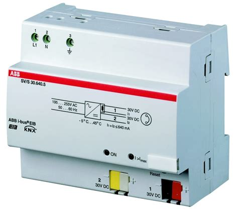 abb i 174 power supply 640ma sv s 30 640 5 domotica