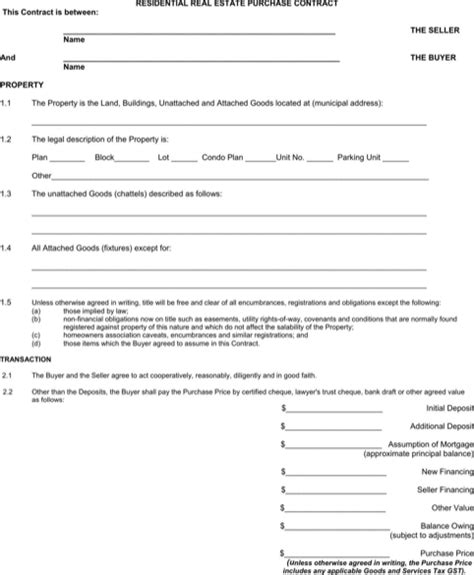 offer to purchase agreement template alberta offer to purchase real estate form for
