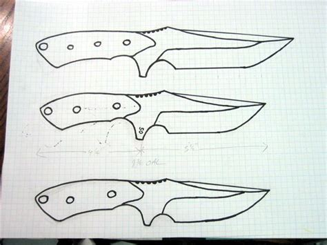 layout blade template knife patterns recherche google knives and knife