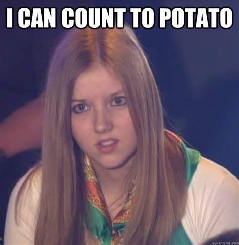 I Can Count To Potato Meme - i can count to potato scumbag gameshow helper quickmeme