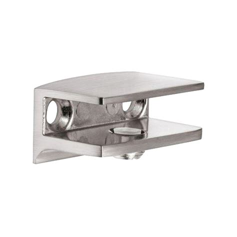 dolle flac stainless steel metal shelf bracket for 1 4 in