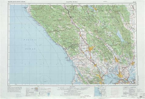 usgs topo maps california santa rosa topographic maps ca usgs topo 38122a1