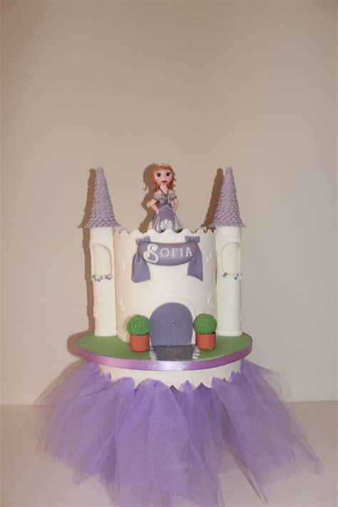 Princess Sofia Castle Cake princess sofia castle cake by tilly makes cake princess sofia princesses castle