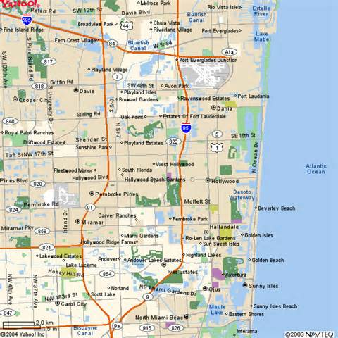 map of se florida residential south florida for sale local maps