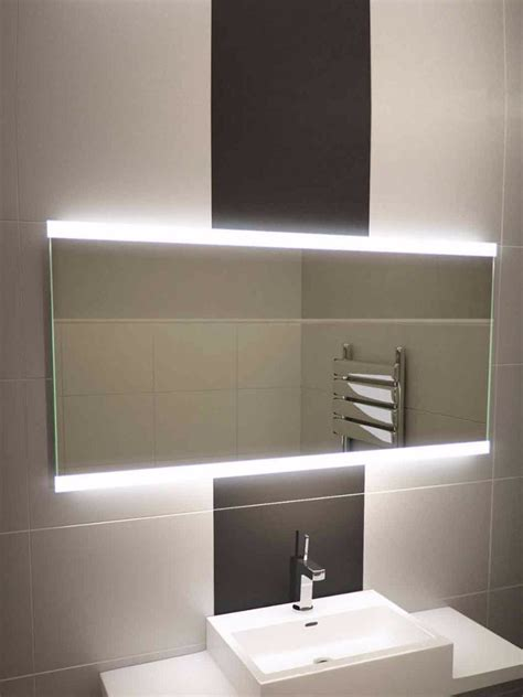 wide bathroom mirror halo range 494 illuminated bathroom mirrors light mirrors