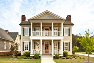 two story house with double porches ideas pinterest siding plans and more covered porch