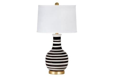 Bedroom Table Lamps Cassidy Table Lamp Black White Interior Decor