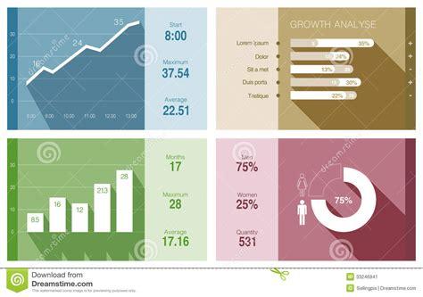 modern template report design table graph infographics vector flat design financial busines stock