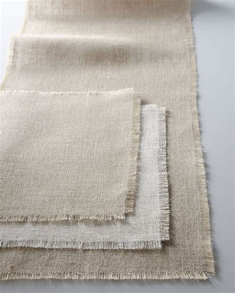 Burlap Table Linens Burlap Table Linens