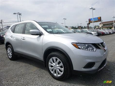 silver nissan rogue 2015 2015 brilliant silver nissan rogue s awd 105677428