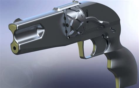 3d gun image 3d home design a new 3d printable gun the imura revolver is being