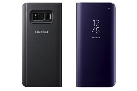 Official Samsung Led Flip Wallet Galaxy S8 Orchid Grey official samsung galaxy s8 s8 accessories now on