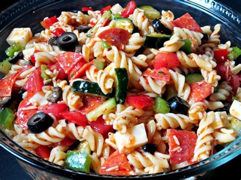 supreme pasta salad love     kitchen