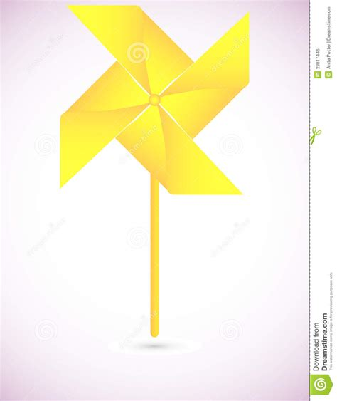 How To Make Paper Yellow - yellow origami pinwheel background royalty free stock