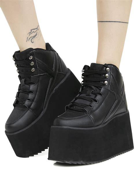 qozmo ii platform sneakers of edm