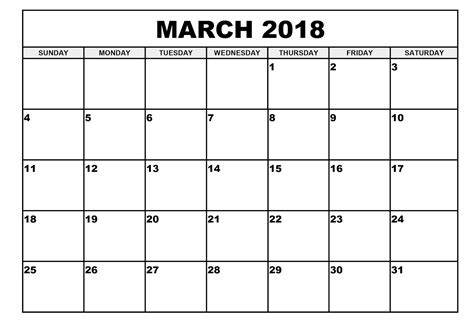 printable calendar for march 2018 free march 2018 calendar in printable format calendar office