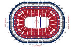 Bell Center Floor Plan Premium Games At Montreal Canadiens Hotel Ticket Packages
