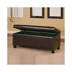 broadbent leather bedroom bench with storage