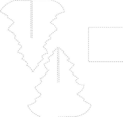 figuras y moldes de foami molde arbol navidad 3d en foami