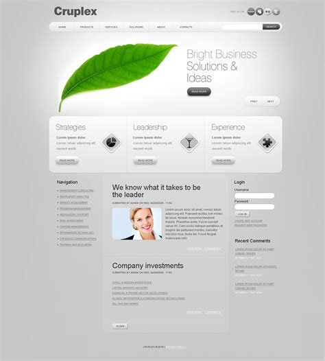 drupal themes review business drupal template 27236