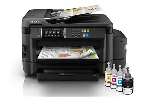 Printer Epson L Series A3 the epson l1455 ink tank printer is able to print documents up to a3 size hardwarezone sg