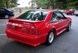 bright 1989 ford mustang gt hatchback