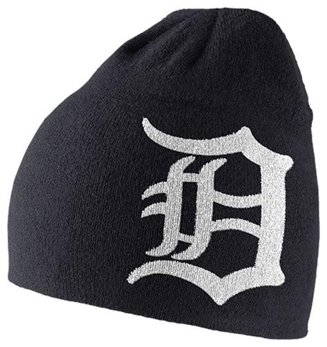 detroit tigers knit cap nike s detroit tigers navy dri fit logo knit cap