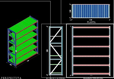 heavy shelf module dwg block  autocad designs cad