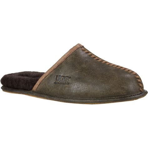 ugg house shoes for men ugg scuff mens slippers