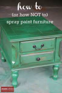 How To Paint Furniture by Spray Paint For Furniture In A Can 1 Wall Decal