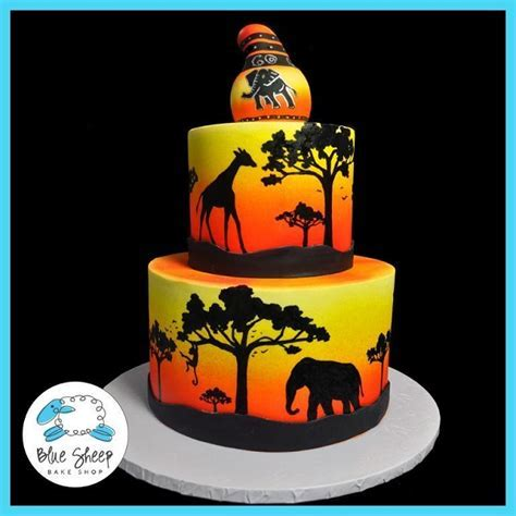 Jungle Themed Cakes and Cupcakes: Wild Inspiration!