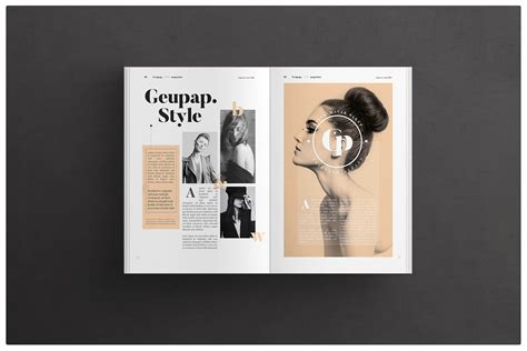 magazine layout on behance magazine layout on behance