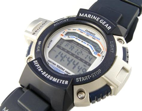 casio marine gear other watches casio marine gear seapathfinder depth