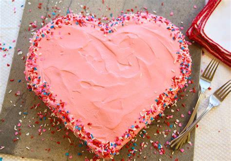 diy heart shaped cake   heart shaped pan