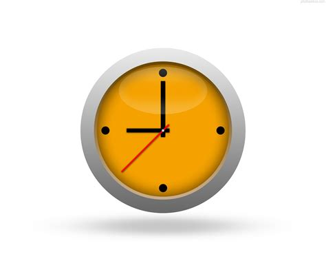 simple clock clock icon photosinbox