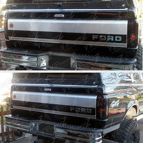 1996 f150 tail lights 1992 1996 ford bronco f150 f250 f350 black bumper