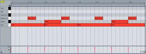 drum pattern dnb ableton forum view topic tutorial drum programming