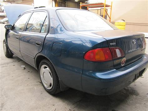 Toyota Corolla 2000 Parts Parting Out 2000 Toyota Corolla Stock 100664 Tom S