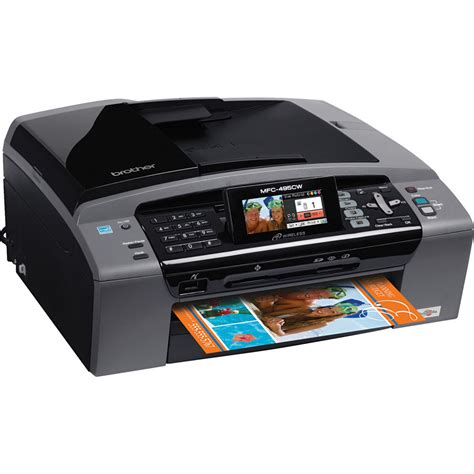Printer J220 mfc 495cw wireless all in one color inkjet mfc 495cw b h