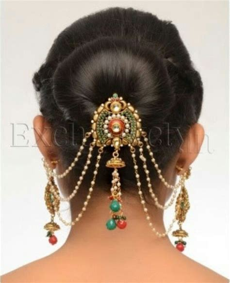 Hairstyle Accessories India by 17 Best Ideas About Indian Bridal Hairstyles On