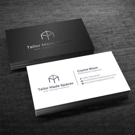 sophisticated business card template personal organizer needs a sleek sophisticated business