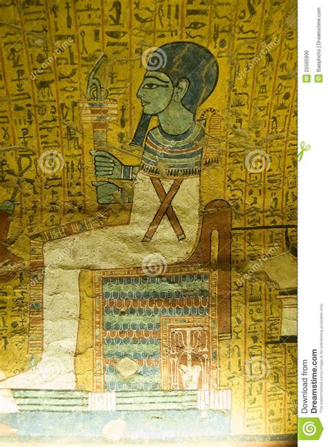 Egyptian Wall Murals ptah ancient egyptian god stock photo image 25505890