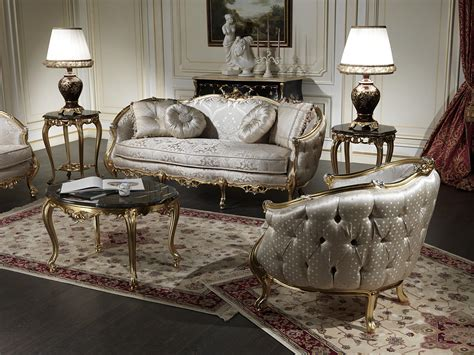 Living Room Furniture Classic Style Classic Sofas In Venezia Style Vimercati Classic Furniture