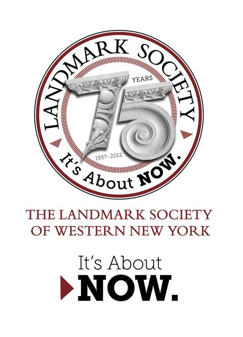 75th anniversary color 75th anniversary landmark society