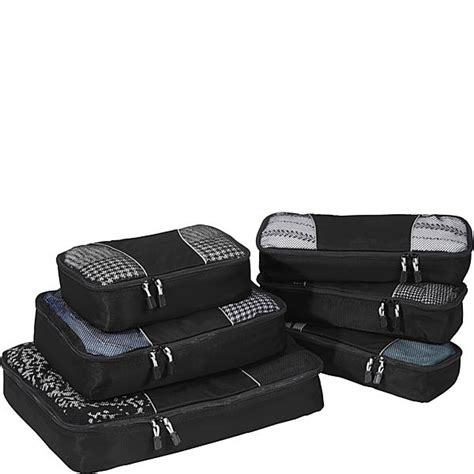 Ebags Packing Cubes 6pc Value Set by Ebags Packing Cubes 6pc Value Set Ebags