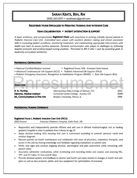 nursing resume templates free resume templates for nurses how to