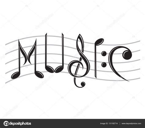 clipart per word musica di parola come note vettoriali stock 169 alexkava