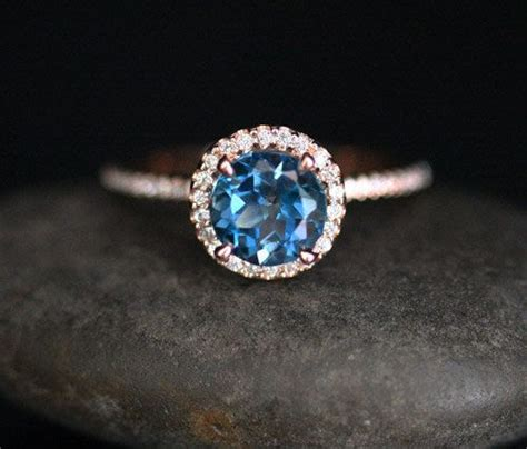 Blue Topaz Memo C 029 25 best ideas about topaz engagement rings on