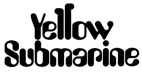 black and yellow testo file the beatles yellow submarine logo png wikimedia